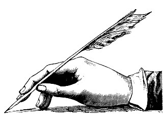 Writer and Quill