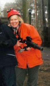Helen at Laser Combat
