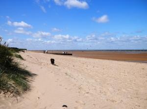 Old Hunstanton Beach, Norfolk.