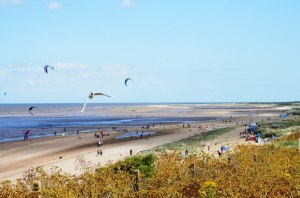 Old Hunstanton Beach from the cliffs