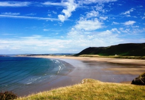 Rhossili Beach, The Gower © Alan Stevenson