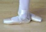 Ballet feet - third position
