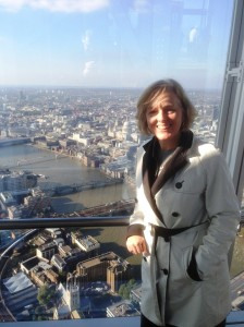 In The Shard - 4th Highest Building in Europe!