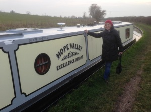 Just spent a weekend on a narrowboat... I was happiest on dry land!