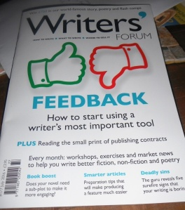 July's Writers Forum magazine