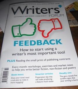July's Writers Forum magazine