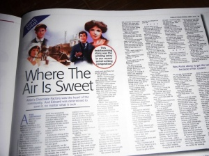 First instalment of my serial in this week's People's Friend